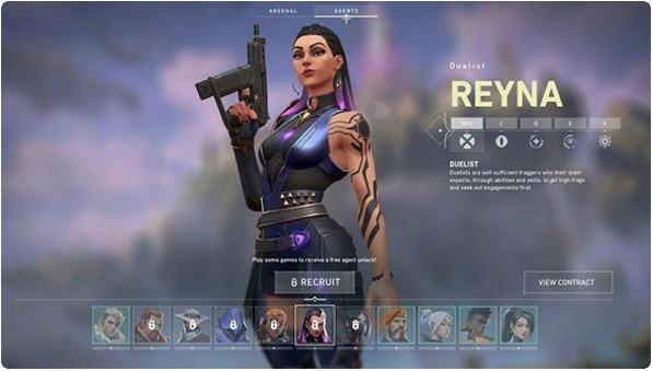 Reyna Valorant game