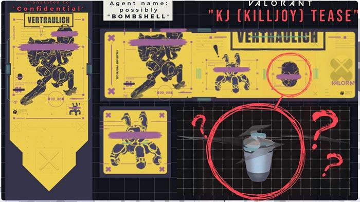 Робот хиллер — 12 агент Valorant? Его способности