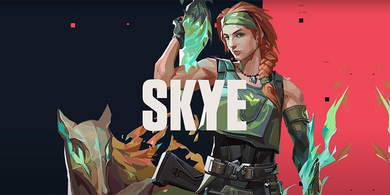 Skye Valorant или агент Скай